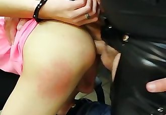 Daddy Fucks Fit Young Twink and Makes Twink Cum All Over Him