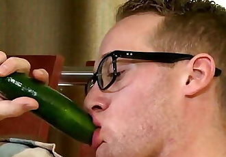 Cock Virgins Veggie Anal Insertion