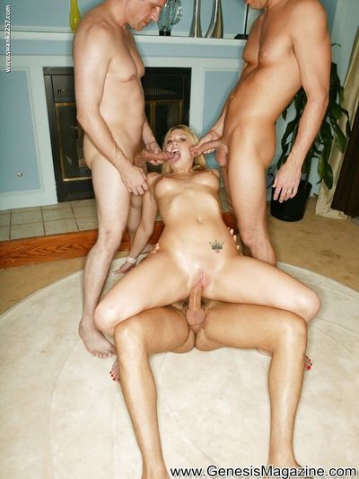 Saucy blonde vixens have some hardcore fun with four stiff pricks - part 2