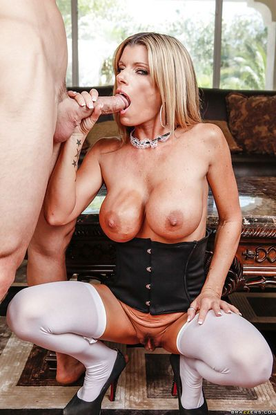 Busty MILf Kristal Summers gets her pussy licked and fucked hardcore - part 2