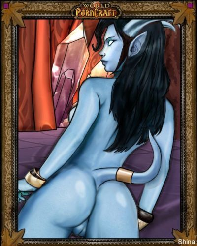 WoW - Draenei Females Compilation - part 4