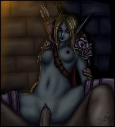 Erotic Fantasy Pictures: WoW Undead - part 2