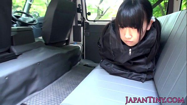 Tiny Japanese teen outdoor group fucked HD