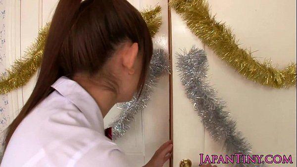 piccolo studentessa Mayu Nozomi ama threeway hd