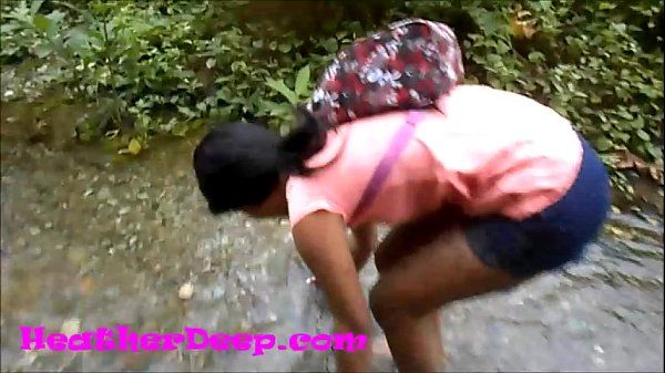 Heather Deep gets creampie on quad in river jungle Trailer