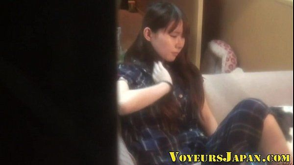 Japanese teen solo toying