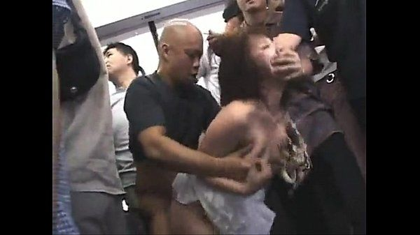Asian girl Forced. Public sex