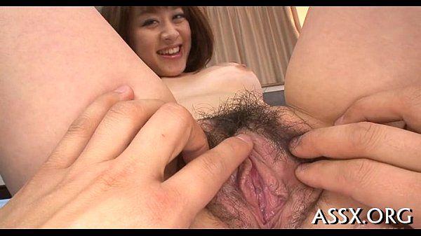 Stretching japanese babe\