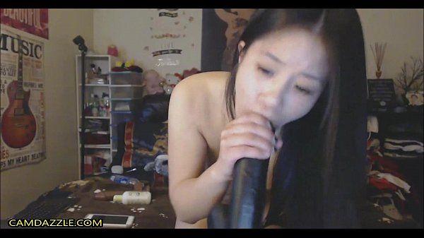 Nasty asian chick hardcore deepthroat