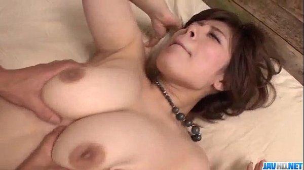 Ririsu Ayaka hot mom blows on two big cocks