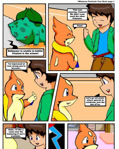 Kitsune Youkai Whatever Floatzels Your Boat (Pokemon)