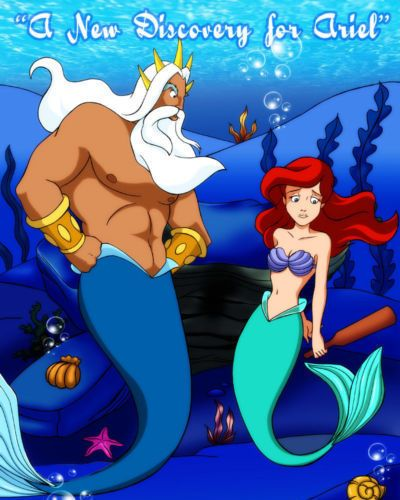 Palcomix A New Discovery for Ariel (The Little Mermaid)