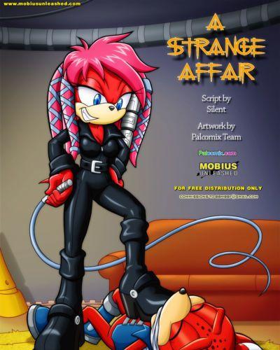 Palcomix A Strange Affair (Sonic The Hedgehog)