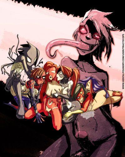 Fixxxer The Violation of the Spider Women (Spider-Man)