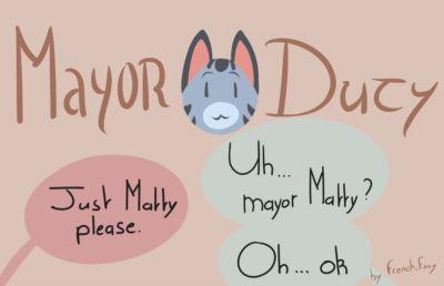 French_Foxy Mayor Duty