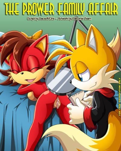 Palcomix The Prower Family Affair (Sonic The Hedgehog)