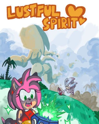 OmegaZuel Lustful Spirit ( Sonic- Amy- Tikal )