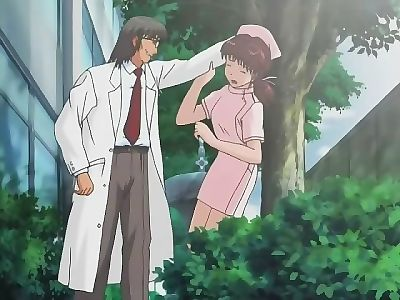 Dirty animated scenes with dishy nurse fucked in the park - part 1248