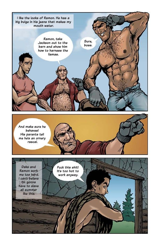 Gay sex slave comic galleries