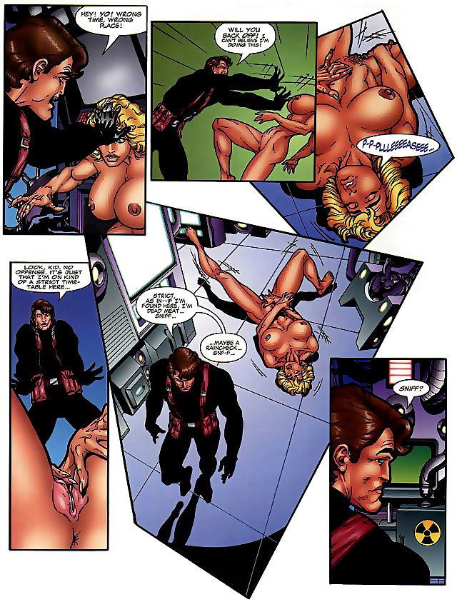 Girls nackt comic X Art