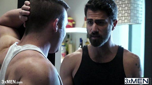 Straight hardcore dude Adam Ramzi and Killian James make out and sucked cock