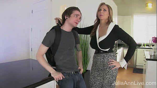 StepMom Julia Ann Fucks Stepson in Ass!HD