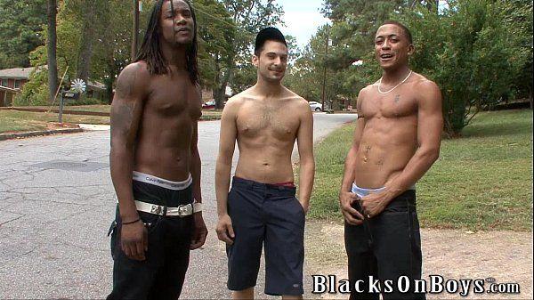 Vinnie Tuscano Having A Fun Time With Black GuysHD
