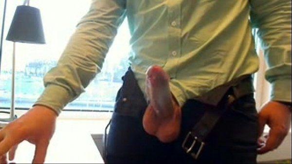 Office jerk-off