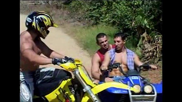 Muscle latin bikers