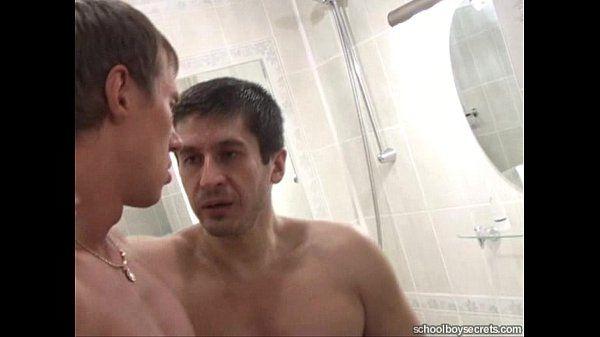 Rough sex in the bathroom