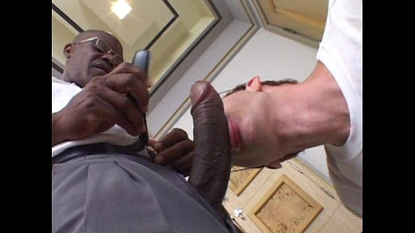 Stud loves gay black cock