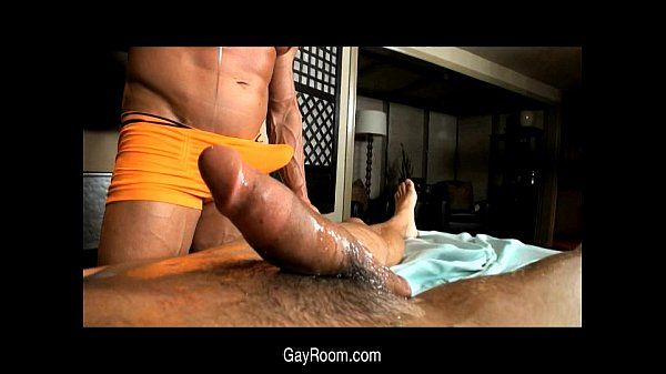 Gay Room Gentle Cock Massage