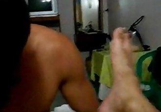 Trai thẳng Thailand lần đầu đụ gay.