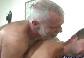 Daddy Takes His Chaser On A Ride