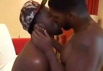 Sexy Thugs Raw Fucking and Kissing