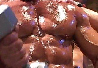 Muscle god Tom Katt worship session