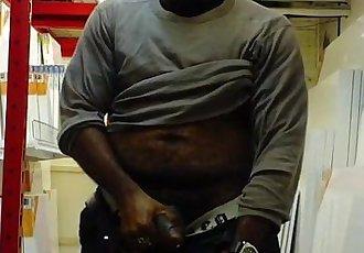 Black Guy Storeroom Jack