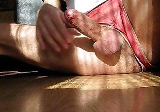Masturbation over piss