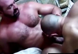 Throat fucking raw gay bears