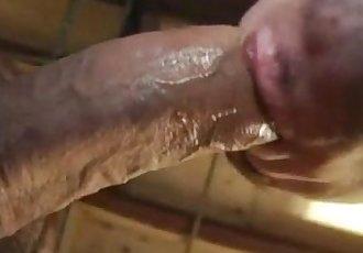сперма в жопе