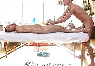 HDManRoyale Latino guy gets his ass coverd in cumHD