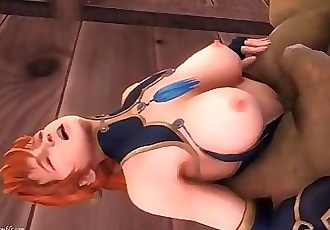 Dead or Alive: Kasumi Fucked by an Ogre