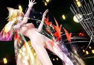 3D MMD Ran Yakumo - Tokio Funka