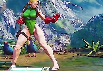 Cammy Barefoot Mod Street Fighter V
