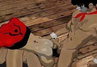 Gay Cartoon 3DJoe PhillipsStoneWall & Riot ~ The Ultimate Orgasm