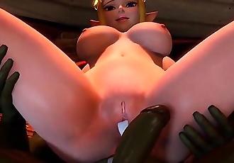 Princess Zelda - Friendzoning Fuck Whore