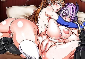 Hentai Passion! Tropical Paradise with Fighting Beauties (Dead or Alive) Part 1 10 min 1080p