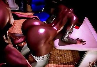 Amara ebony Milf get Fucked hardScene 3 11 min