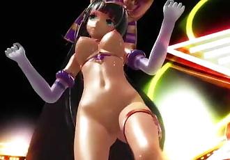 3D MMD Ramesees II Dances Girls