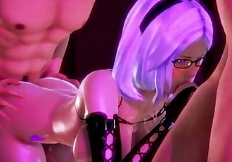 Honey Select - Succubus in action